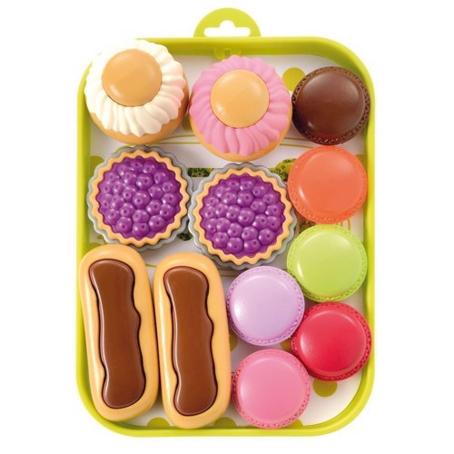 Image of Ecoiffier tray with Biscuits (3280250009801)