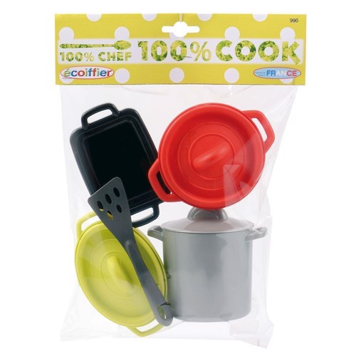 Image of   Ecoiffier 100% Chef Cookware set