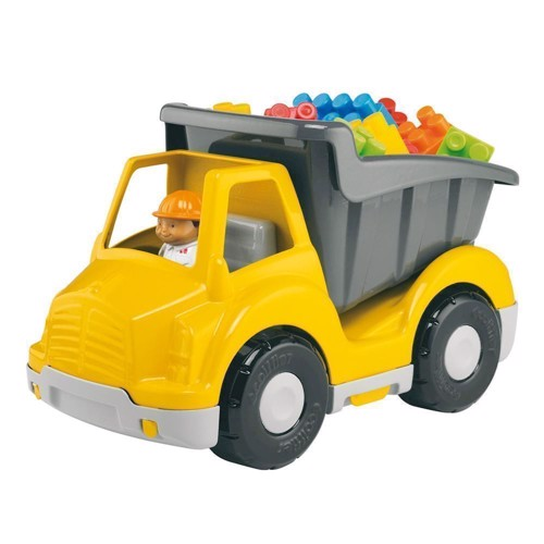 Image of Abrick lastbil med klodser (3280250014836)