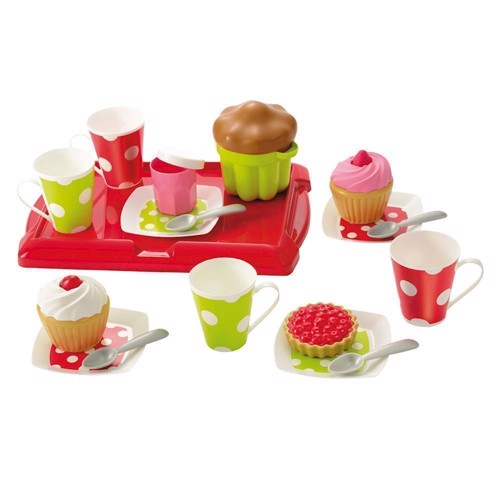 Image of Ecoiffier 100% Chef tea set with Muffins (3280250026112)