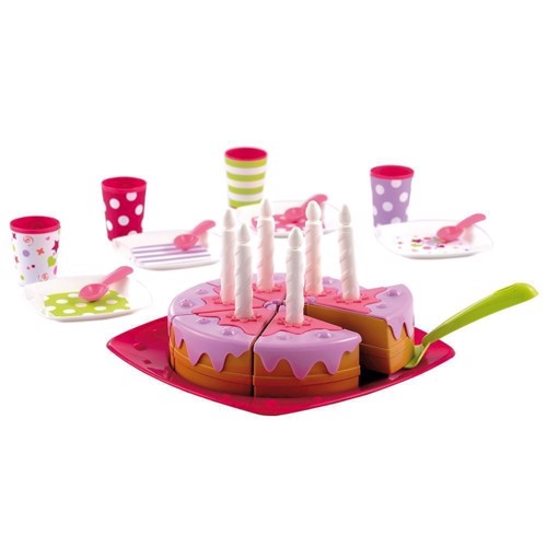 Image of Ecoiffier 100% Chef birthday cake with Plates (3280250026136)