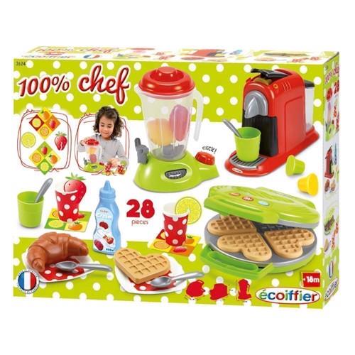 Image of Chef kitchen lege mad og tilbehør 28 dele