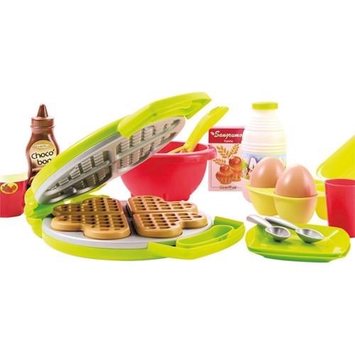 Image of Legetøjs mad vaffeljern med tilbehør 22 dele