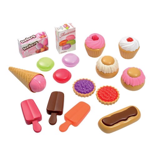 Image of Ecoiffier 100% Chef sweet treats, 17dlg (3280250026600)