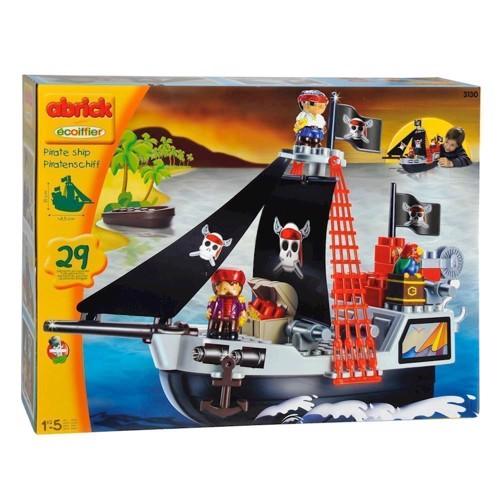 Image of Abrick Pirat skib (3280250031307)