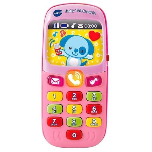 Image of   Vtech Baby legetøjstelefon Pink
