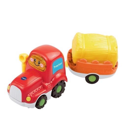 Image of VTech Tut, traktor med trailer (3417761523230)