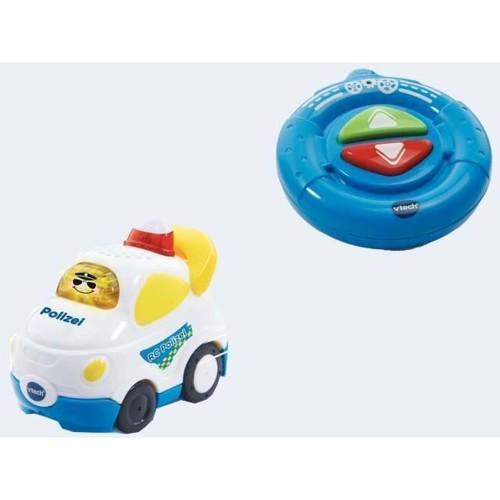 Image of   Vtech Baby Racers, fjernstyret politi bil 1-5 år