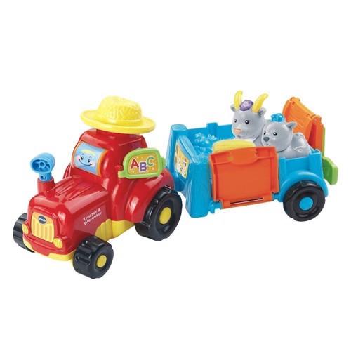 Image of   Vtech Igor dyr, traktor med trailer og dyr