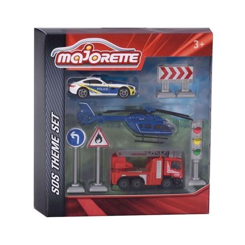 Image of Majorette legesæt med udrykningskøretøjer (3467452001622)
