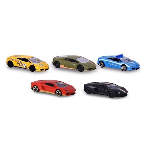 Image of Majorette - Lamborghini Sæt, 5 dele. (3467452006061)