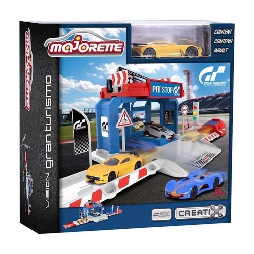 Image of Majorette - Creatix Gran Turismo Pitstop (3467452006719)