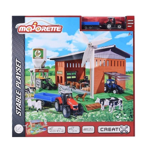 Image of Majorette Creatix Barn Playset (3467452040577)