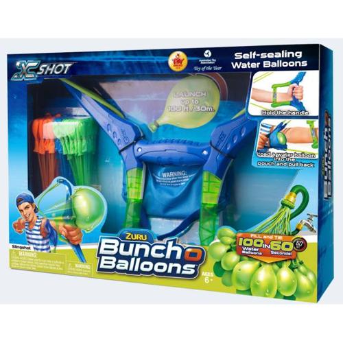 Image of   Bunch Balloons bue med 6x35 vandbaloner