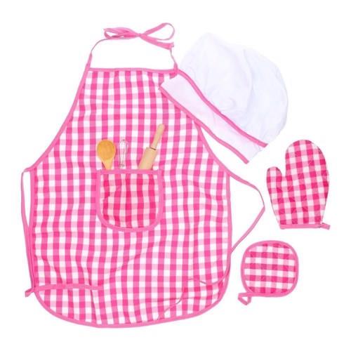 Image of Køkkensæt, med forklæde, børn (3800966003162)