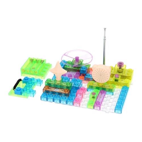 Image of Electronic Blocks - Elektrisk byggesæt, 120 dele (3800966003674)