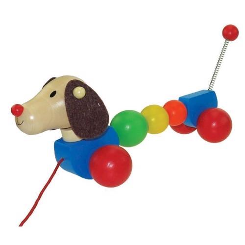 Image of Trækkedyr i træ, hund (3800966004558)