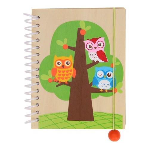 Image of   Notesbog i træ