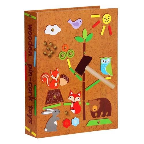 Billede af Hammerspil med dyr fra skoven