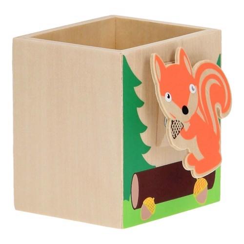 Image of   Blyants holder med Memo clip, egern