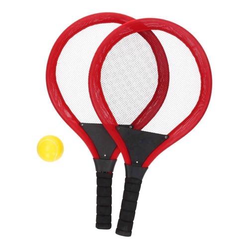Image of   Tennissæt med 2 ketsjere & bold