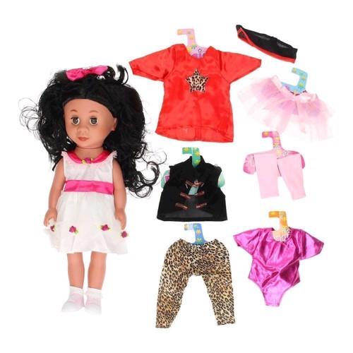Image of   Dukke, Maggie med tøj