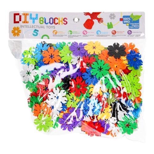 Image of DIY byggeringe blomster, 150 dele (3800966007290)