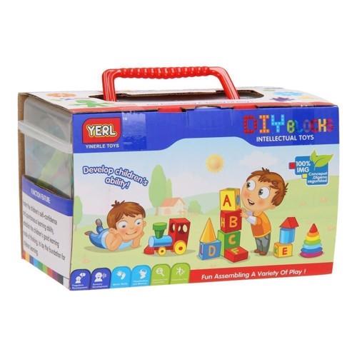 Image of DIY byggesæt, firkant i kasse (3800966007344)
