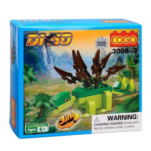 Image of COGO - dinosaur 3 in 1 (3800966009959)