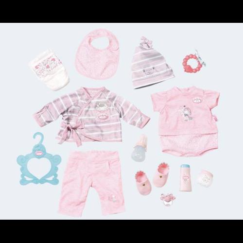 Image of Baby Annabell DeLuxe sæt med tøj og tilbehør (4001167700181)