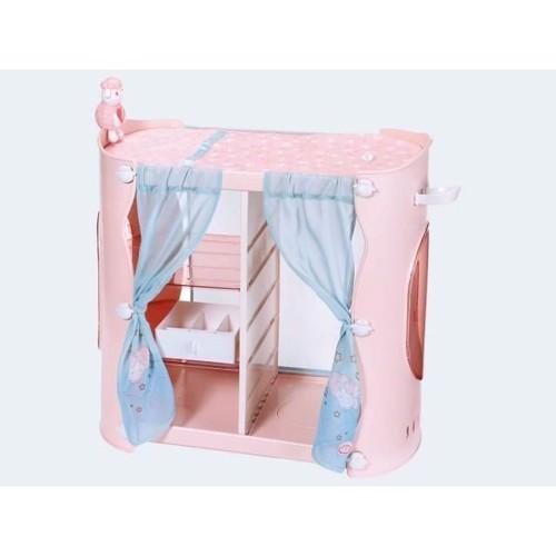 Image of Baby Annabell 2i1 skab og seng til dukke (4001167700907)