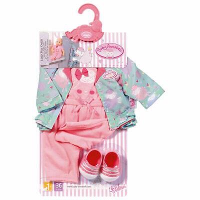 Image of Baby Anabell dukketøj med jakke og sko