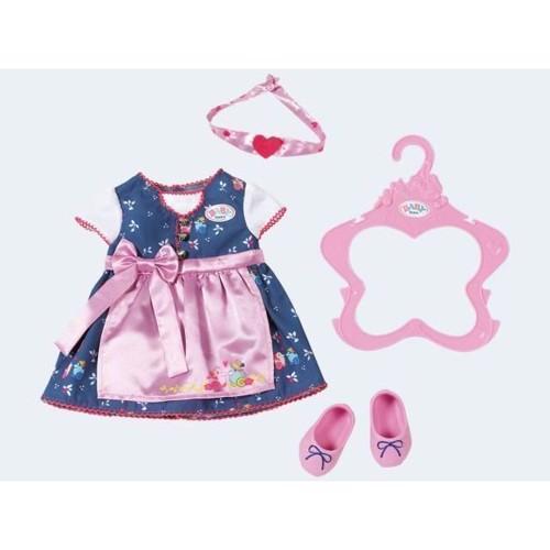 Image of Baby Born tøjsæt, kjole med sko