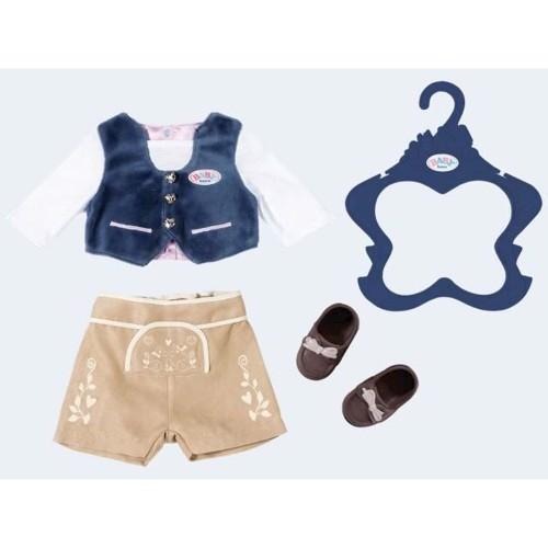 Image of Baby Born tyroler tøjsæt til drenge dukker