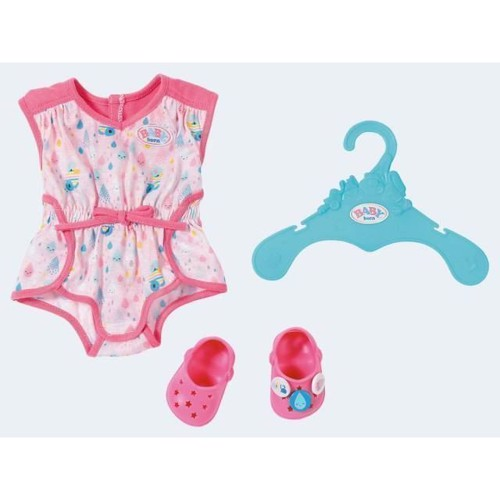 Image of Baby Born Shorty Pyjamas med clogs (4001167824634)