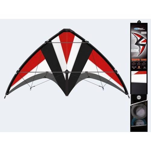 Image of   Stunt drage Whisper 125x54cm fiberglas