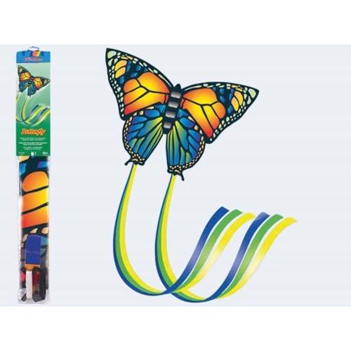 Image of   Drage 95x63cm, sommerfugl Nylon