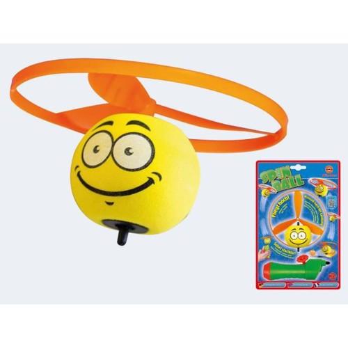 Image of   Spinball 12cm flyvende smiley