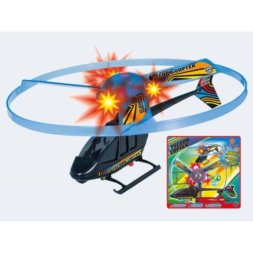 Image of   Helikopter 30cm Tycoon med lys