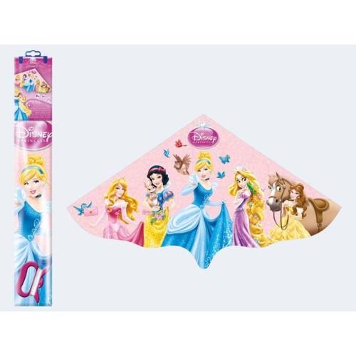 Image of   Drage med Disney prinsesser 115x63cm