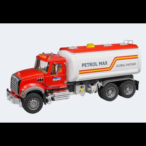 Image of   Bruder Mack transport lastbil til benzin 55cm