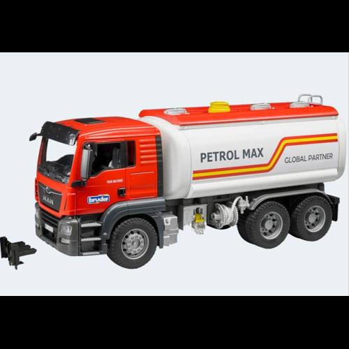 Image of Bruder MAN TGS transport lastbil til benzin 46cm (4001702037758)