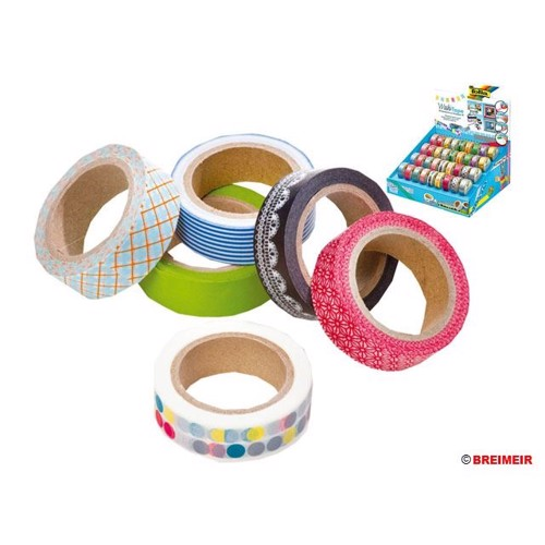Image of   Tape, 36 Ruller Washi-Tape i display