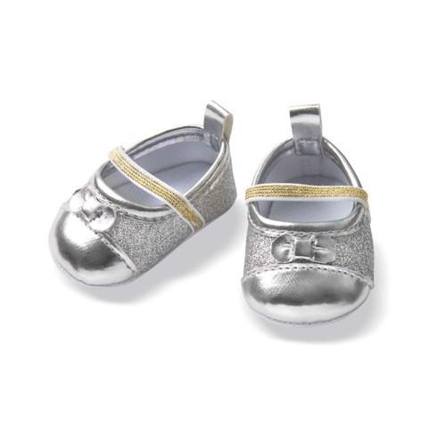 Image of Dukketøj, Glimmer sko til dukker på 38-45 cm (4001949007422)