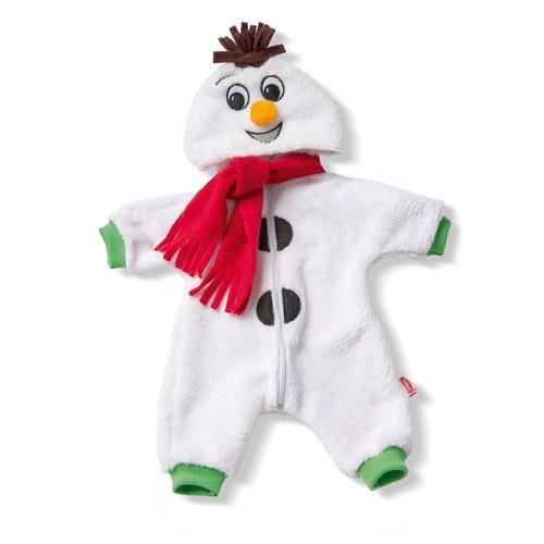 Dukketøj, Snemands tøj til dukker på 28-35 cm