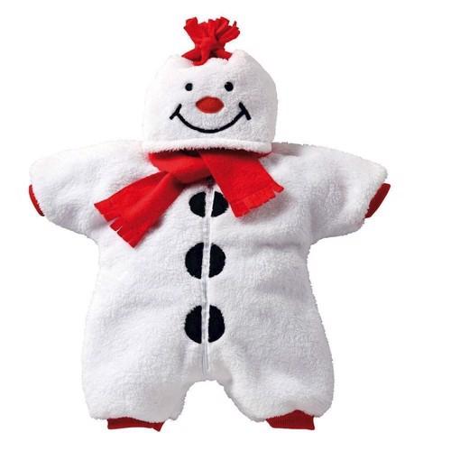 Dukketøj, Snemands tøj til dukker på 35-45 cm