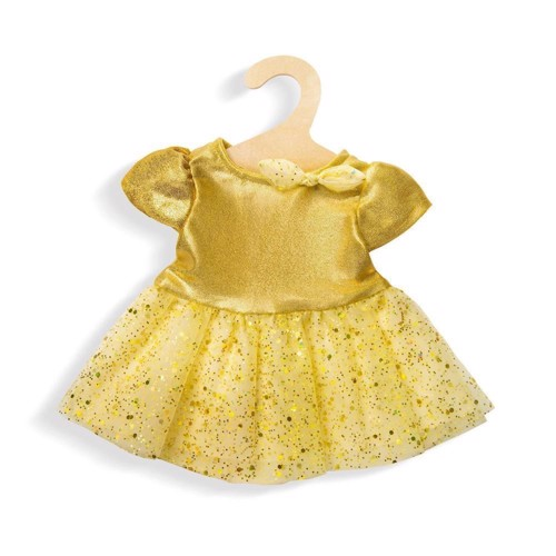 Image of   Doll Dress Gold, 35-45 cm