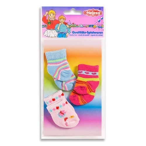 Dukketøj, Dukke strømper til dukker på 28-35 cm