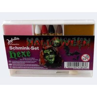 Halloween Make-Up Set 5f Pumpkin / Skeleton / Witch / Vampi