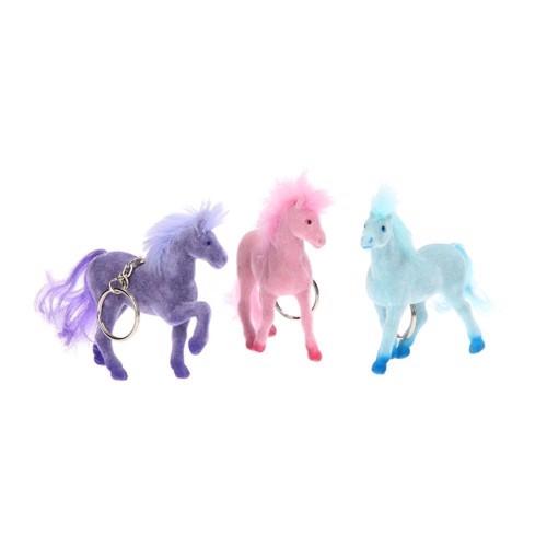 Farvet nøglering, hest